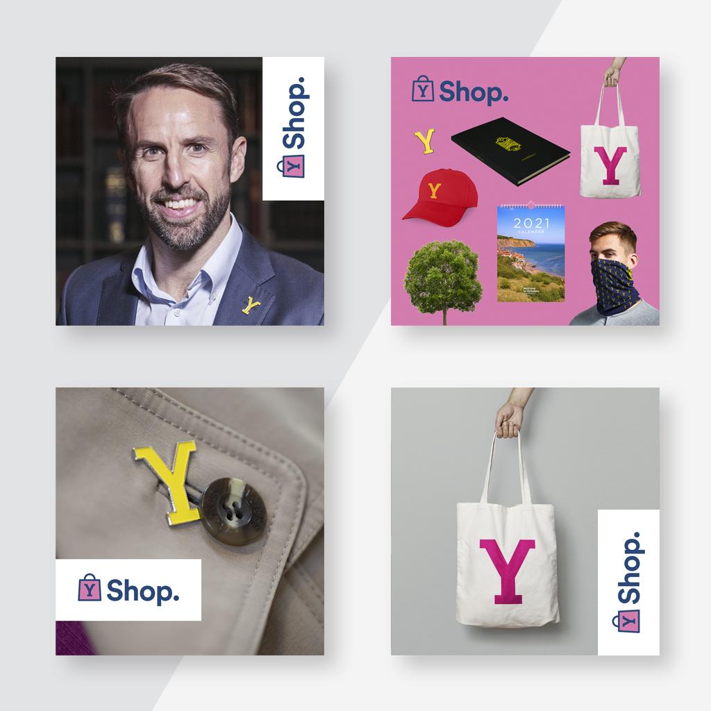 Y Shop social x4